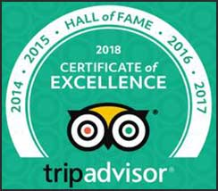 Woodwind Bonaire is a member of Trip Advisor's Hall of Fame.